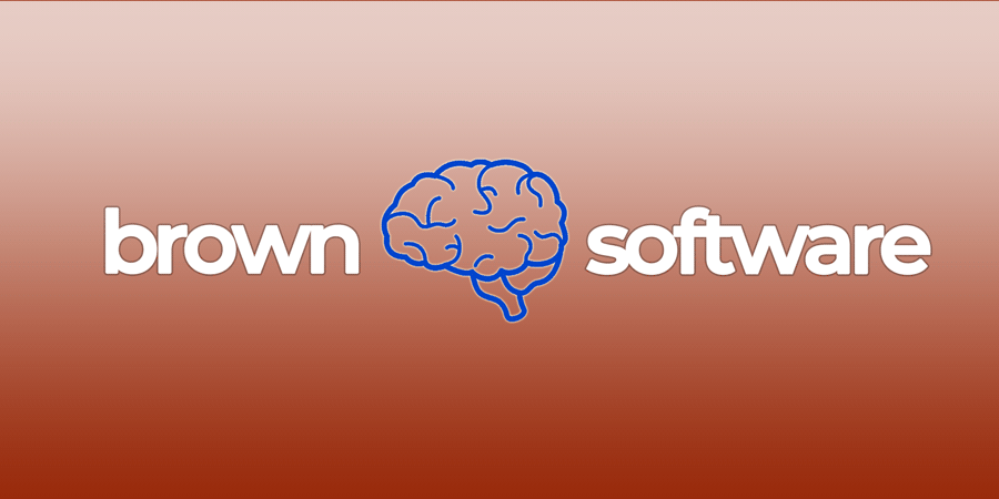 Brown Software Logo